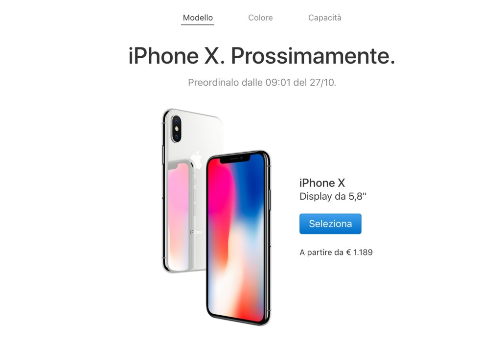 How much does Apple iPhone X cost?