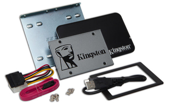 Kingston UV500, new 2.5-inch SSD, M.2 and mSATA up to 960 GB