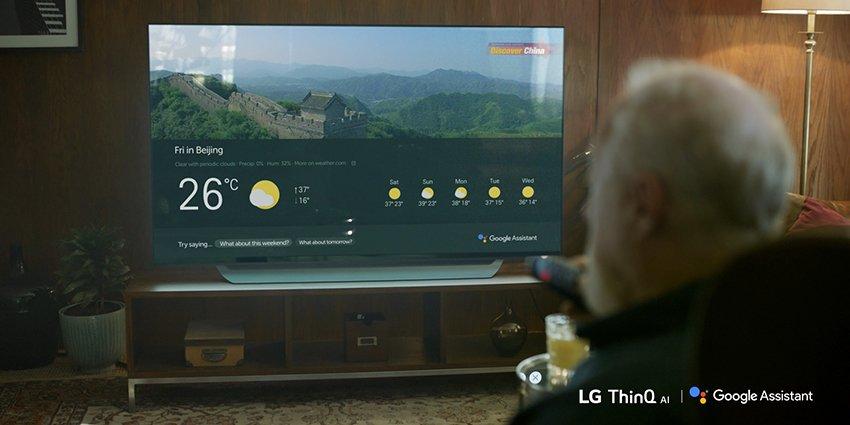 LG brings Google Assistant on smart TV 2018