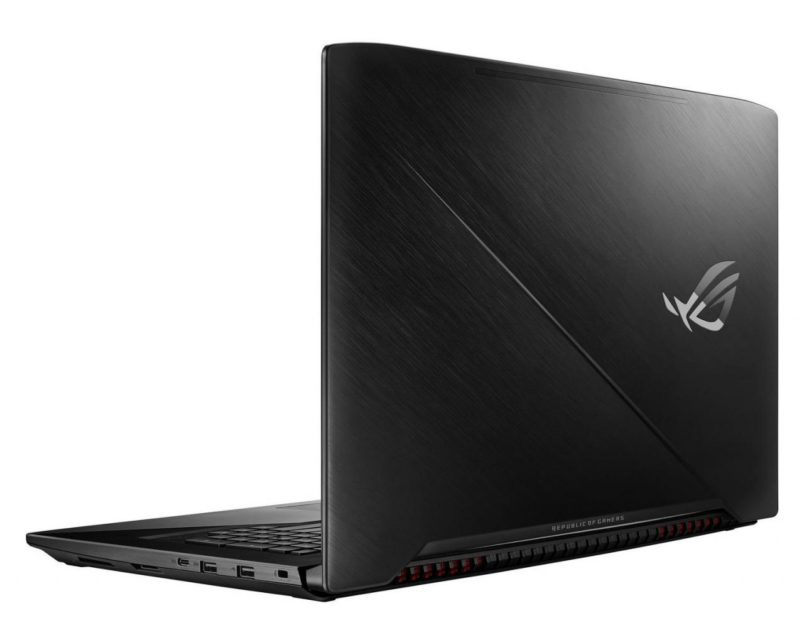 Asus ROG Strix GL703GE pack Specs and Details