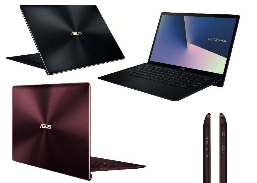 Asus Zenbook S UX391 UA Unveiled at Computex 2018