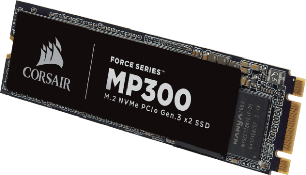 Corsair MP300, a new affordable M.2 NVMe SSD