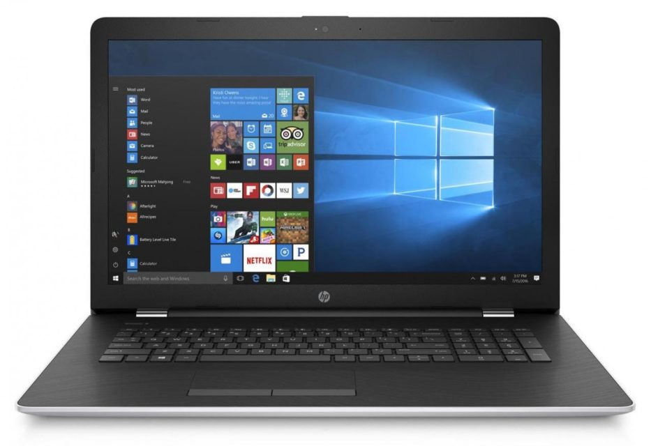 17 Inch Notebook : HP 17-bs036nf Specs and Details