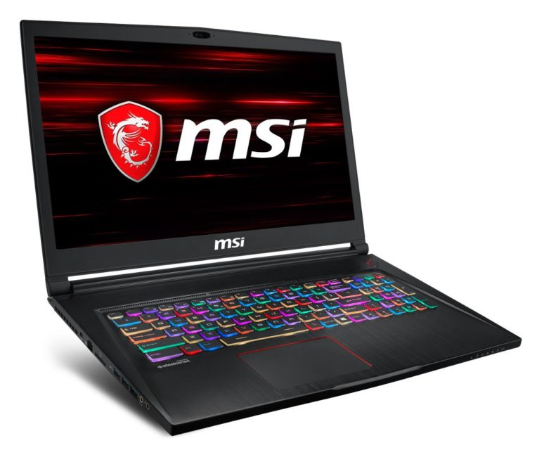 MSI GS73 8RD Specs and Details
