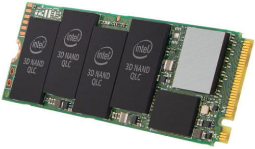 Intel SSD 660p Series, new M.2 NVMe SSD with QLC memory