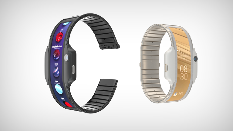 Nubia - α concept is a smartphone that you wear as a bracelet