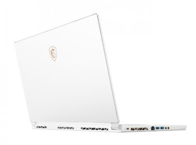 MSI P65 8RF-494FR Specs and Details, white, light and thin for intensive play