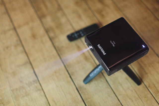 Philips launches PicoPix Max, the mini projector with built-in battery
