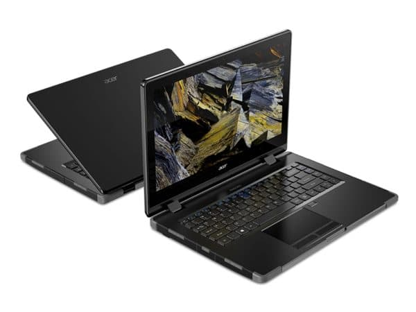 Acer Enduro N3 and N7, new robust Pro laptops for extreme conditions (rain, dust, etc.)