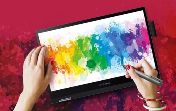 Asus VivoBook Flip 14 TM420, Convertible Touchscreen Laptop Tablet