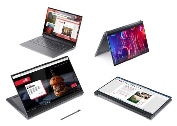 "Lenovo Yoga 9 15IMH5 15"" 4K Ultrabook Gaming 13h Octo Core i9 GeForce GTX TB3"