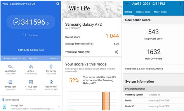 Samsung Galaxy A72 Review, Specs, Features & Details