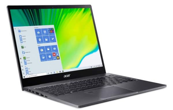 Acer Spin 5 SP513-55N-7254 Specs and Details