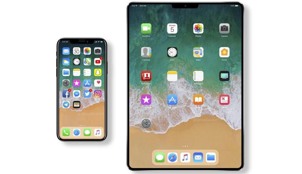 Apple, the next iPad will have face recognition like iPhone X