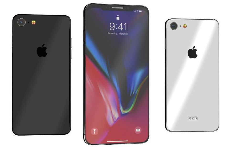 iPhone X SE Reveal Its Design