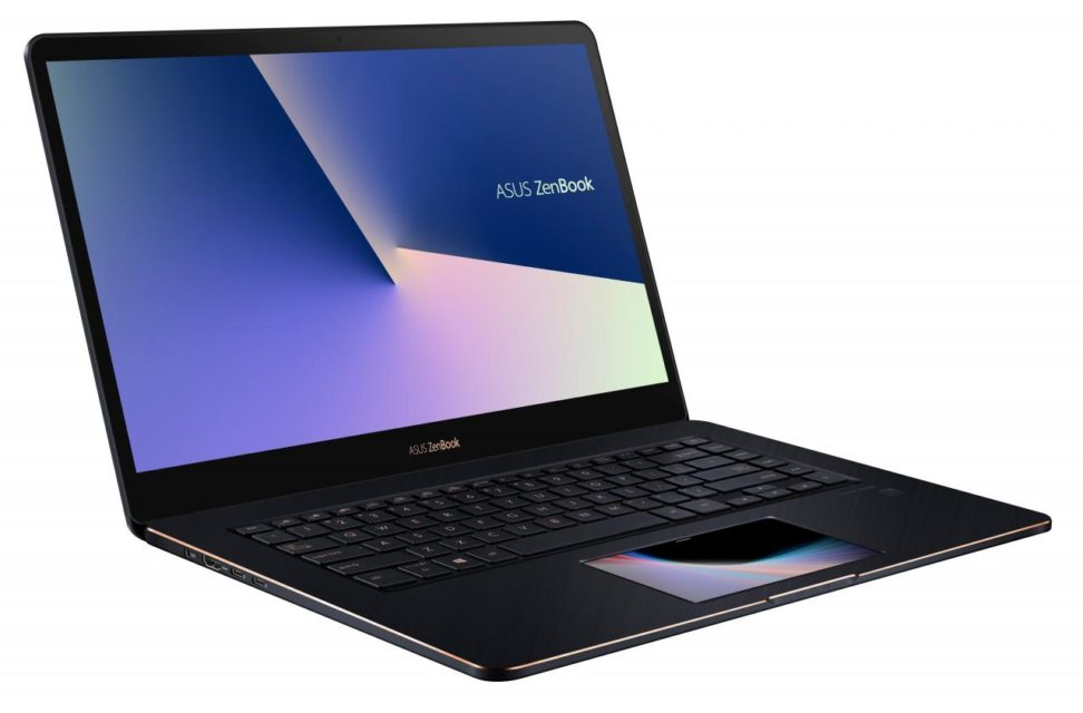 Asus Zenbook Pro 15 UX580 With 5.5 Inch ScreenPad
