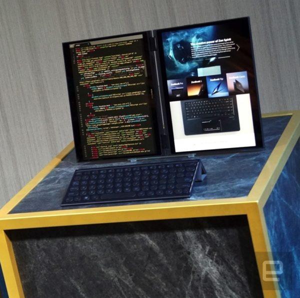 Computex 2018 - Asus Project Precog 2-screen Ultrabooks, Lenovo Yoga Book 2