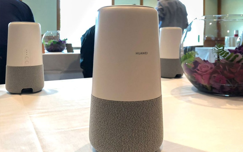 Huawei unveils AI Cube, a connected speaker equipped with Alexa that also serves as a 4G router!