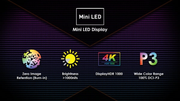 MSI introduces its Creator 17, first laptop with mini LED display