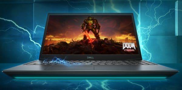 Dell G5 15, new 144Hz AMD laptop PC Renoir Octo Core RX 5600M or Intel Comet Lake-H RTX 2060 TB3