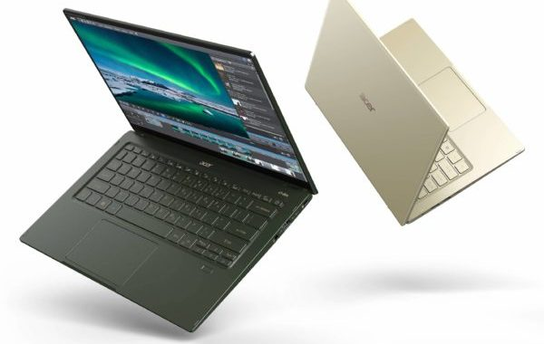 Acer Swift 3 and Acer Swift 5 2020, new lightweight ultrabooks, Tiger Lake Gen11