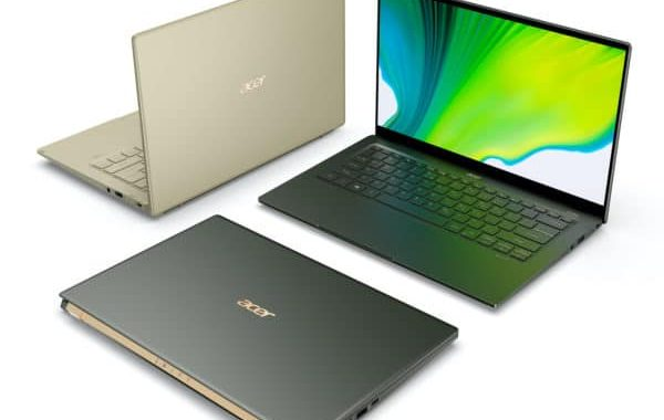 Acer Swift 3 and Acer Swift 5 2020, new lightweight ultrabooks, Tiger Lake Gen11
