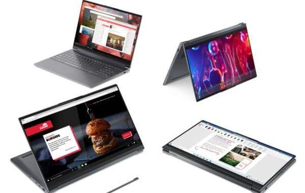 Lenovo Yoga 9 15IMH5 - Laptop voor fotobewerking 4K resolutie voor fotograaf - Vouwbare laptop