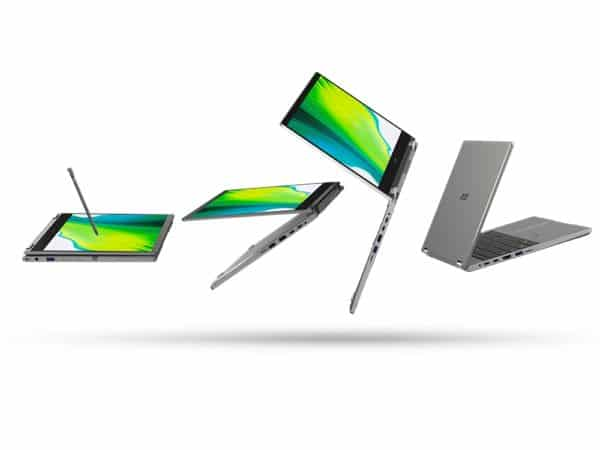 Acer Spin 3 SP313-51N and Spin 5 SP513-55N, 2-in-1 touchscreen Ultrabooks -  Gadget Review